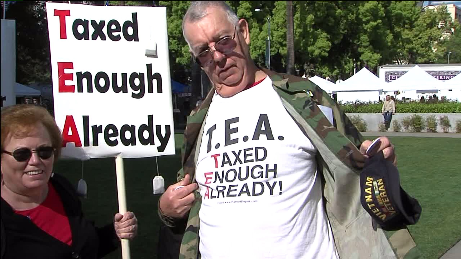 Tax Tea Party.